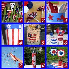 4th of July Kids Craft Round Up