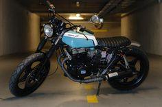 Honda CB 450 Street Tracker by ATJ Project