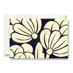Vera Wang bold artichoke embossed notes