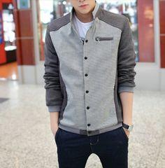 collar jacket, share fashion, men fashion, detail men, men stand, hood detail, stand collar