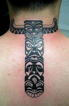 tribal faces #totem #tattoo