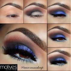 Tutorial Maquillaje de Ojos de color Azul