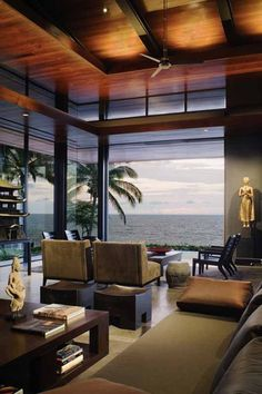 Tropical Design Modern Beach House Decorating Ideas - Living Room
