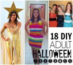 18 easy DIY adult costumes! #Halloween