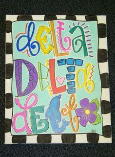 Delta Delta Delta $75.00