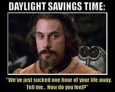 Daylight savings time humor