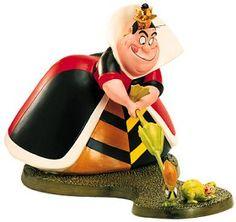 *QUEEN of HEARTS ~ WDCC Disney Classics_Alice In Wonderland Queen Of Hearts Let The Game Begin