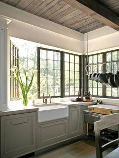 Kitchen windows that