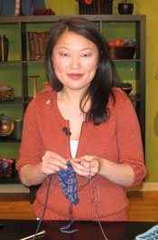 long tail cast-on for ribbing. Cast on with Eunny! - Knitting Daily - Knitting Daily