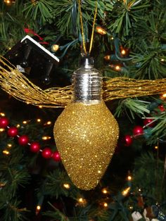 Holy Craft: Dollar Store ornament update with glitter