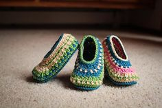 Ravelry: Galilee Slippers pattern by Tara Murray