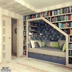 Awesome reading corner!!!