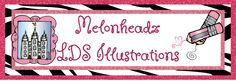 Melonheadz LDS illustrating  whimsical drawings