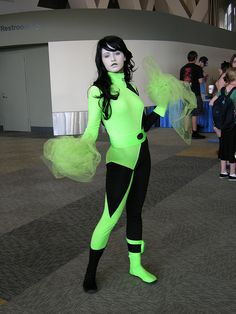 Shego from Kim Possible by TiffK- Never thought about this though it would an awesome costume for the crazed Disney fan