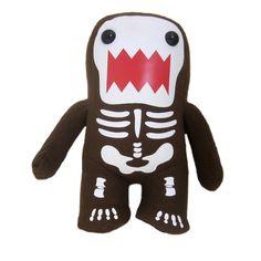 Glow In Dark Skeleton Plush M by Domo