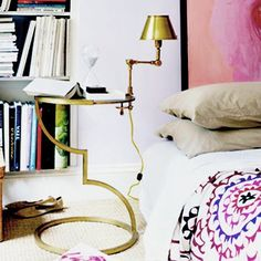 gold with pink