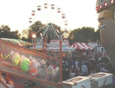 In May, the town of Stilwell puts on the Stilwell #Strawberry Festival complete with a carnival, games, a parade, live entertainment and tons of fresh strawberries.