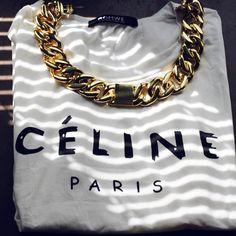 Celine on Celine  Need that celine chain necklace