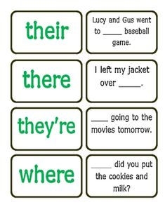 Great game to practice homophones- would be great for work work