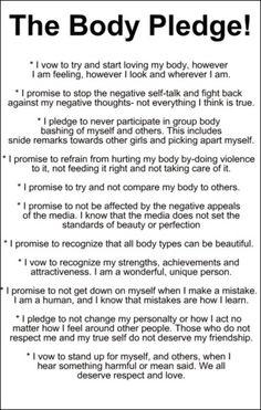 The Body Pledge
