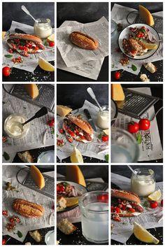 greek hotdog