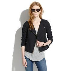 Sidecar Biker Jacket by Madewell