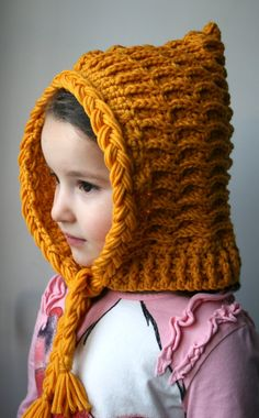 Crochet Pattern, pixie hat pattern by Luz Patterns #crochetpattern #crochet
