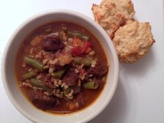Beef and Barley Stew perfect for a fall day.