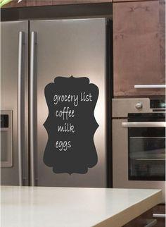 fridge chalkboard sticker
