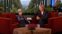 Ellen Meets Adorable, Singing 4 Year Old Kai!  - http://www.mustwatchnow.com/ellen-meets-adorable-singing-4-year-old-kai/