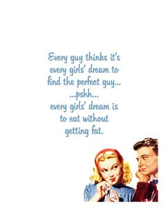 "Quirky Quotes by VintageJennie at Etsy.com | ""Guys & Girls"""