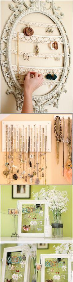 Organize your jewelry