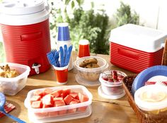picnic food w/kids