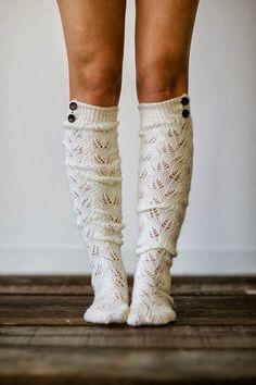 Adorable cute knitted boot socks fashion | Women Fashion Galaxy