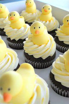 Baby Shower Cupcakes - Duckies
