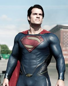 Superman - Henry Cavill (Man of Steel). That is one fine piece of man meat.. he can save me any day :)
