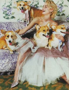 Photography by Mario Testino | For Vogue UK | December 2001