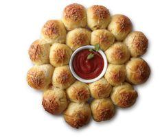Pizza Biscuit Wreath #Recipe #HolidayEntertaining