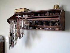 DIY tool box wall shelf