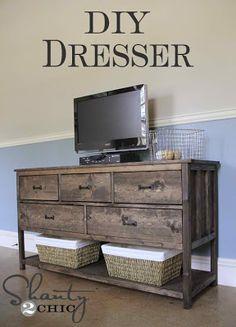 diy dresser, son bedroom, pottery barn inspired, diy furniture, potteri barn, bedroom furniture, diy potteri, make furniture, diy projects