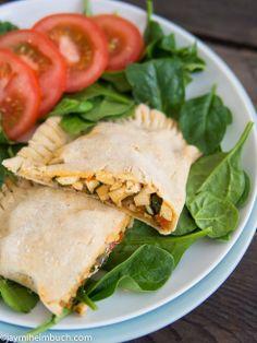 Southwest style breakfast hot pockets [Vegan, Gluten-Free] : TreeHugger