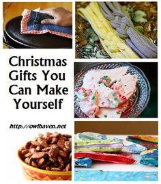 5 Christmas Gifts You Can Make via owlhaven.net