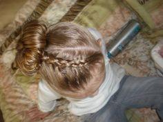 french braids, dance hair, danc hair, hairdo idea, girl hairstyl