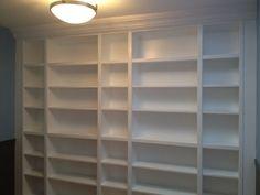 Bookcase Built Ins