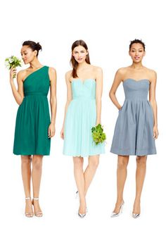 Bridesmaid dresses by j.crew