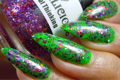 Sassy Paints: Laquerlicious Witchful Thinking from the Halloween 2014 Collection