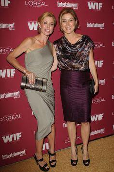 Sofia Vergara and Julie Bowen at Pre-Emmy bash