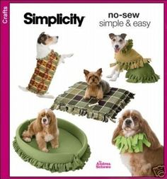 No sew doggie stuff