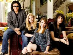 TV Moms~Character: Shannon Tweed Actress: Shannon Tweed TV Series: Gene Simmons Family Jewels (2006-2012) ~ ~ The show follows the life of Kiss bassist and vocalist Gene Simmons, his longtime partner and wife Shannon Tweed, and their two children, Nick and Sophie.