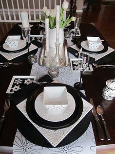 Black & White Dishes #FEELBEAUTIFUL #WHBM